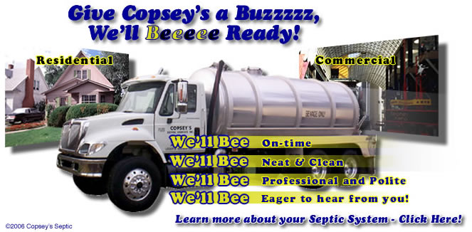 Copsey's will Bee there for you!